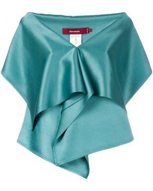 Блузка зеленый шелковая Sies Marjan