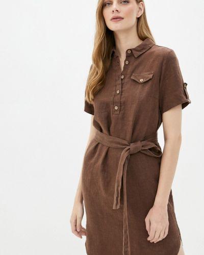 Коричневое платье Gabriela