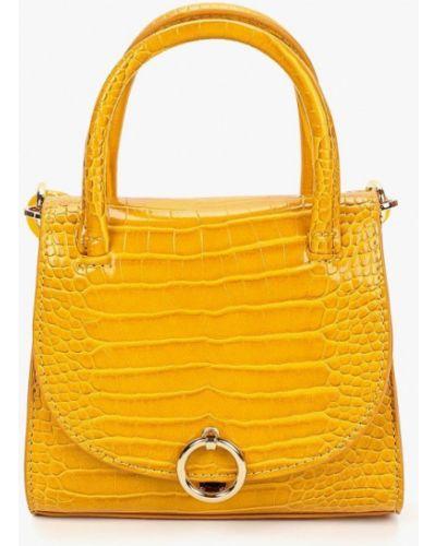 Кожаный сумка через плечо Topshop