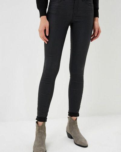 Черные джинсы-скинни Tom Tailor Denim