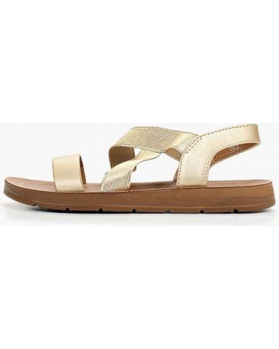 Сандалии золотой Style Shoes