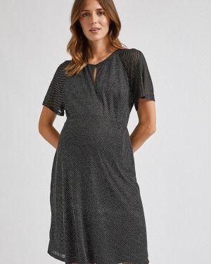 Платье для беременных осеннее серое Dorothy Perkins Maternity