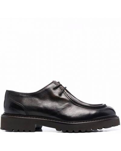 Кожаные монки - черные Doucal's