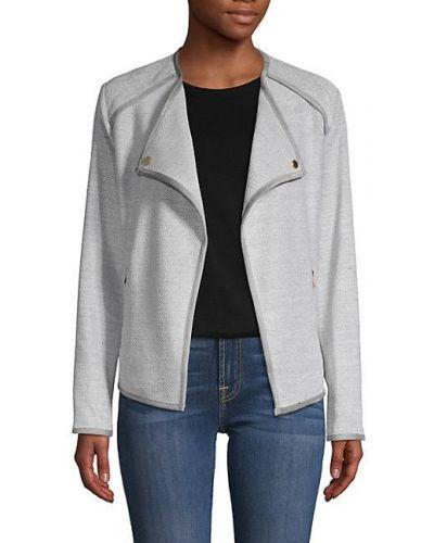 Длинная куртка с воротником с длинными рукавами с карманами Calvin Klein