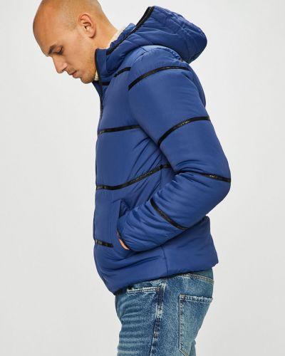 Утепленная куртка с капюшоном стеганая Only & Sons
