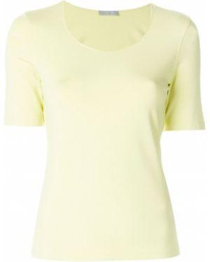 Базовая футболка - желтая Le Tricot Perugia