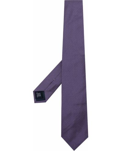 Krawat z printem - niebieski Polo Ralph Lauren