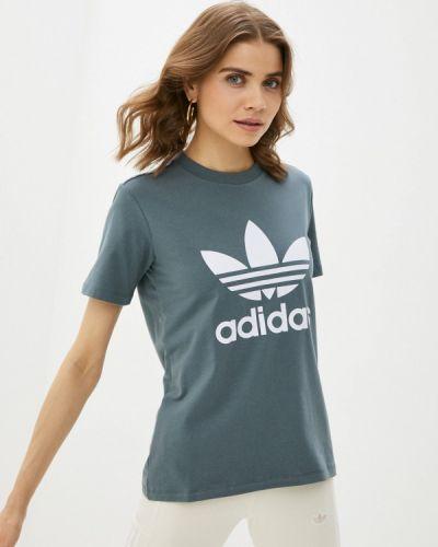 Бирюзовая футболка Adidas Originals