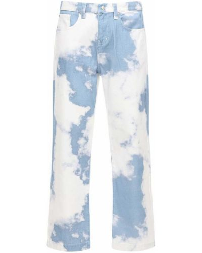 Синие джинсы с принтом Jaded London