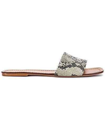 Beżowe sandały skorzane Raye
