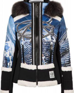 Утепленная куртка спортивная с рисунком Sportalm