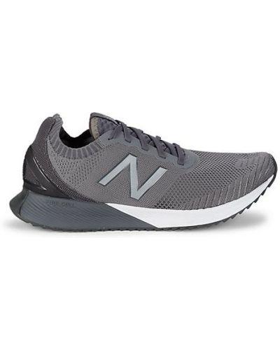 Текстильные кроссовки на шнурках круглые New Balance