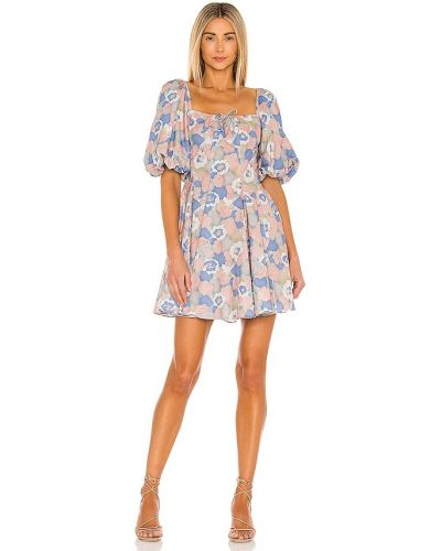 Niebieska sukienka bawełniana Selkie