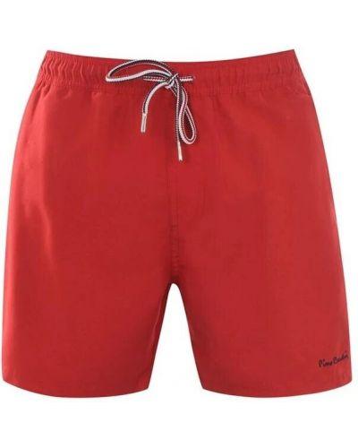 Пляжные шорты - красные Pierre Cardin