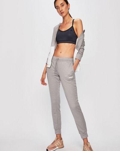 Bluza z kapturem z kapturem szary Adidas