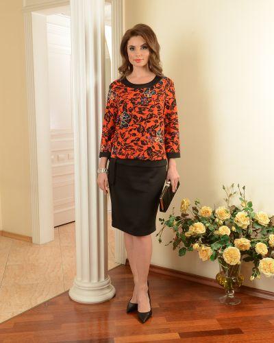Платье с поясом платье-сарафан с вырезом Salvi-s