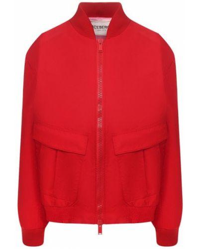 Куртка с подкладкой красная Iceberg