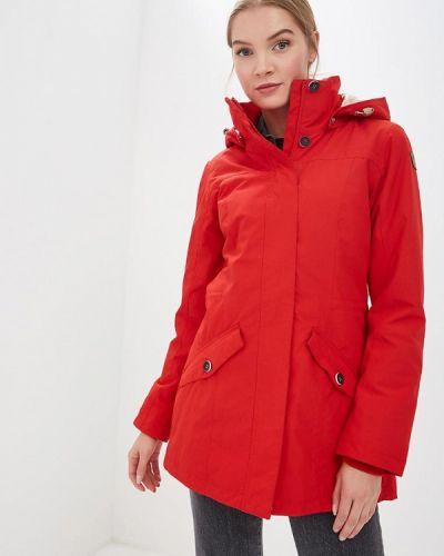 Утепленная куртка весенняя красная Icepeak