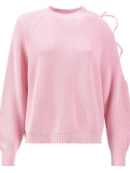 Хлопковый свитер - розовый Pinko
