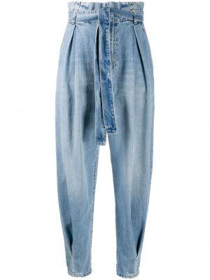 Niebieskie jeansy bawełniane Redvalentino