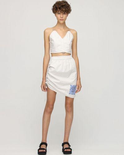 Хлопковая юбка - серая Mcq
