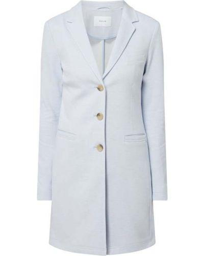 Płaszcz bawełniany - niebieski Opus