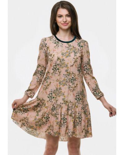 Платье польское бежевое Vera Moni