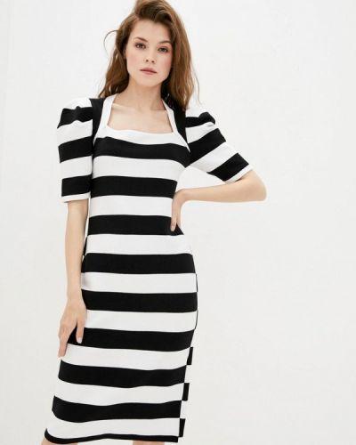 Прямое белое платье Dolcedonna