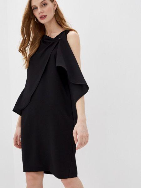 Черное повседневное платье Iblues