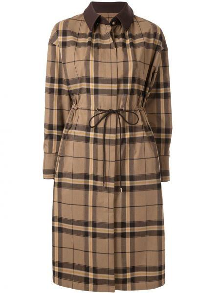Длинное пальто с капюшоном узкого кроя Loveless