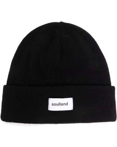 Czarna czapka beanie Soulland