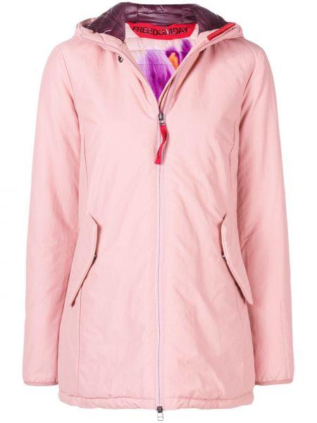 Розовая короткая куртка свободного кроя Freedomday