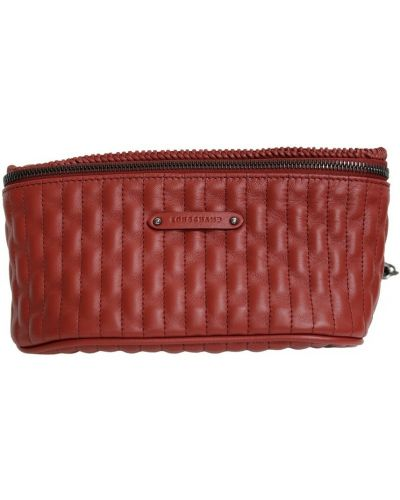 Czerwony pasek z paskiem Longchamp