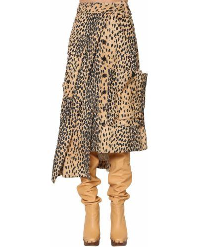 Асимметричная юбка Jacquemus