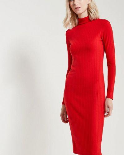 Красное платье осеннее A-a By Ksenia Avakyan