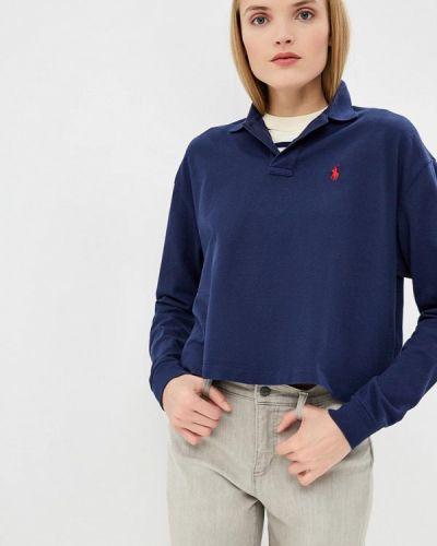 Поло синий Polo Ralph Lauren