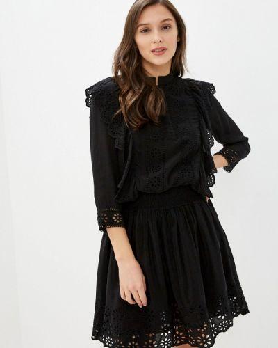 Прямое черное платье Scotch&soda