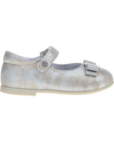 Туфли серебряный Naturino