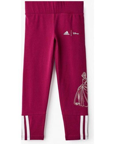 Розовые леггинсы Adidas