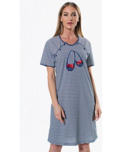 Платье - синее Vienetta