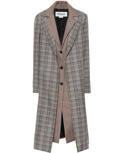 Шерстяное пальто Monse
