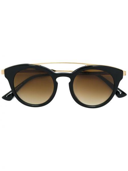 Черные солнцезащитные очки металлические Sol Amor 1946