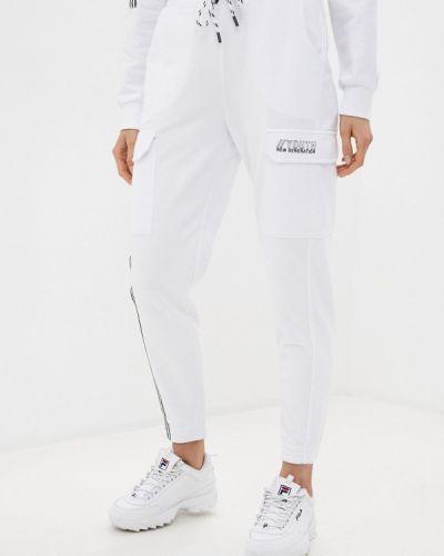 Спортивные белые спортивные брюки Dali