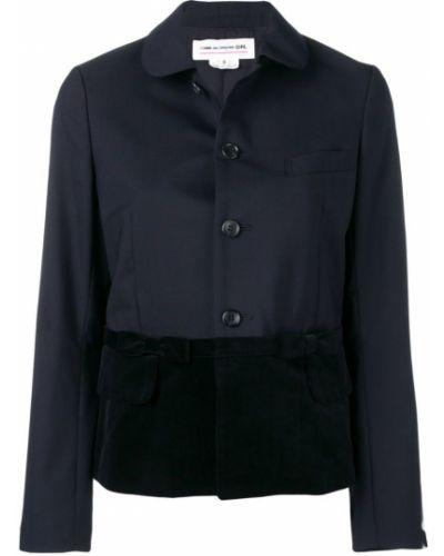 Синий пиджак на пуговицах Comme Des Garçons Girl