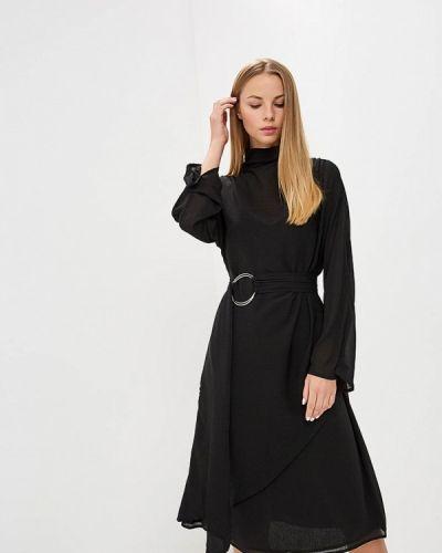 Платье прямое осеннее Lost Ink.