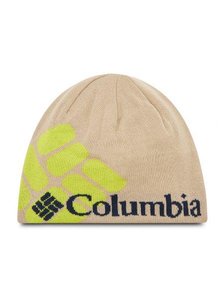 Czapka beanie - beżowa Columbia