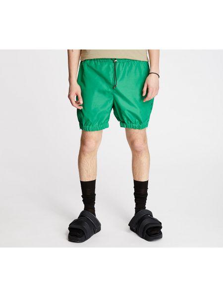 Zielone szorty Footshop
