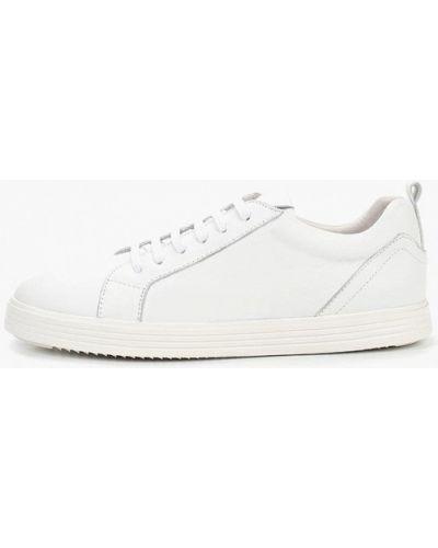 Низкие кеды белые кожаный Guido Grozzi