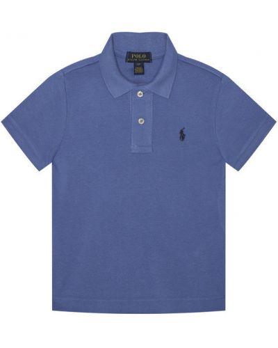 Niebieska koszulka Polo Ralph Lauren