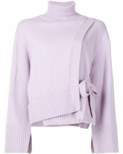 Шерстяной джемпер - фиолетовый Eudon Choi